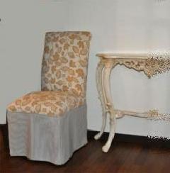 アウトレット 布張りチェアー ジェニファーティラー 椅子 アメリカンカントリー アウトレット 291293
