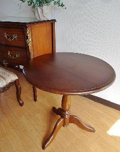 サイドテーブル 花台 丸テーブル 932-ST-102