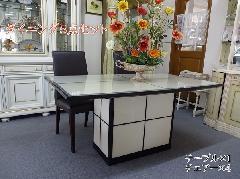 展示現品売り尽くしセール 大理石テーブルとチェア4脚 827-DT-600