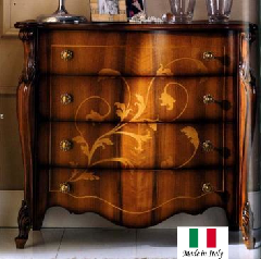 展示現品売り尽くしセール イタリア家具 猫脚家具 4段チェスト 5403