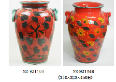イタリア製陶器の傘立て 22−931