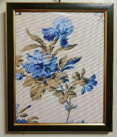 額絵 布絵 花の額絵 BZ-F7