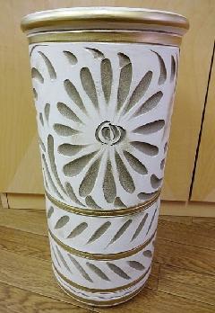 イタリア製 陶器の傘立て 996