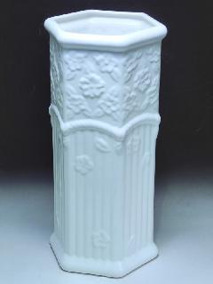 ポルトガル製 白い傘立 陶器の傘立て 200W
