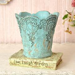 フラワーベース プランターカバー 植木鉢 花瓶 627