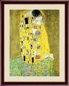接吻  世界の名画 クリムト  G4-BM070