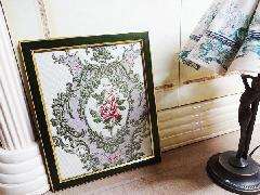 額絵 布絵 花の額絵 BZ-F10