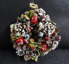 クリスマスリース 花輪 LHK5