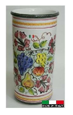 イタリア製 陶器の傘立て 962270