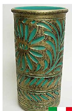 イタリア製 陶器の傘立て 9683T