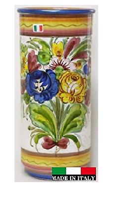 イタリア製 陶器の傘立て 96764