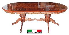 イタリア家具 ダイニングテーブル2mオーバル  IMA13B389RI