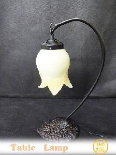 アンティーク 葡萄のランプ テーブルランプ  171H