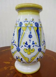 【在庫処分】イタリア製 陶器の植木鉢 花瓶 インテリア 雑貨 置物 ヨーロピアン 276