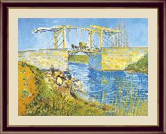 アルルの跳ね橋 世界の名画 ゴッホ  G4-BM052