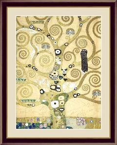 絵 額絵 絵画 生命の樹 世界の名画 クリムト  G4-BM073