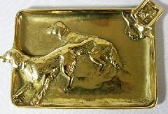 真鍮 アクセサリー置き 灰皿 C3-116