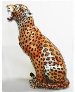 レオパード ヒョウ イタリア製 陶器  IMA−H6-123LS