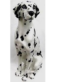 ダルメシアン 犬 イタリア製 陶器  IMA−H6-109DA