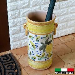 イタリア製傘立て  素焼き テラコッタ 陶器 傘立て おしゃれ レインラック 2425LE