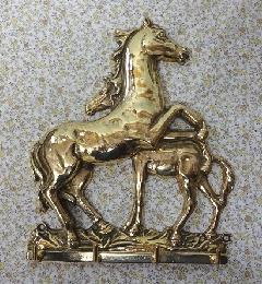 真鍮 キーハンガー フック 壁掛け 鍵掛け C3-1088