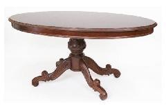 イタリア製象嵌入りリビングテーブル 01-8330