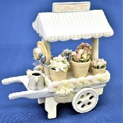 オルゴール 陶器 リアドロ風 結婚お祝い 贈り物 プレゼント ベローフラワーショップ