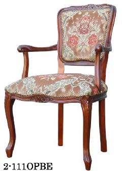 イタリア製 ヨーロピアンスタイルのアームチェア リビングイス 応接用椅子 111OPBE