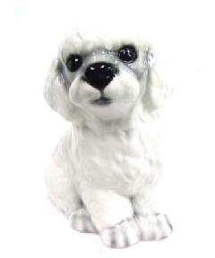プードル 犬 イタリア製 陶器  H6-12WSD