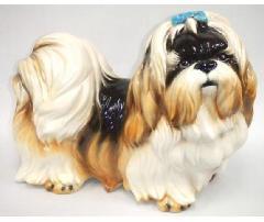 シーズー 犬 イタリア製 陶器  H6-214F