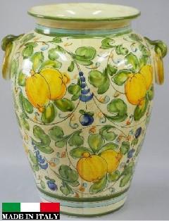 イタリア製傘立て 花柄 果物 イエロー 黄色 可愛い 素敵 932793