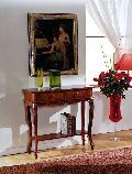 イタリア家具 猫脚 コンソール パソコンデスク DK-1011