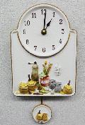 ドイツ製セラミック時計 振り子時計