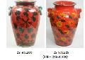 陶器の傘立て 22−931