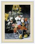 花瓶の花 世界の名画ルノワール