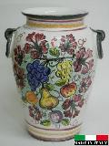 イタリア製 陶器の傘立て 932270
