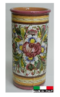 イタリア製 陶器の傘立て 96797