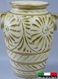 イタリア製 陶器の傘立て 9369