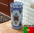ポルトガル製 傘立 陶器の傘立て 262BL
