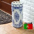 ポルトガル製 傘立 陶器の傘立て 262W