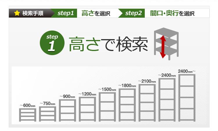 Step1.高さで検索