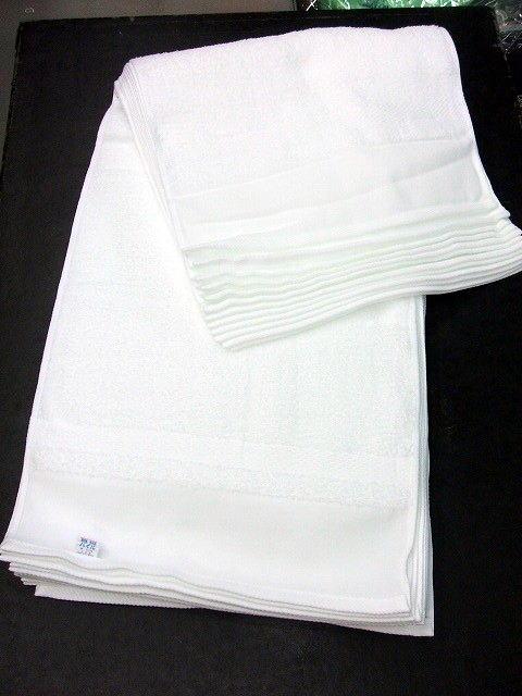 国産240匁 白タオル 1ダース(12枚)