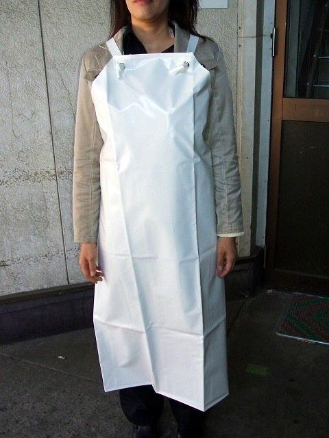 ネオフレッシュ防水エプロン(白) 日本製