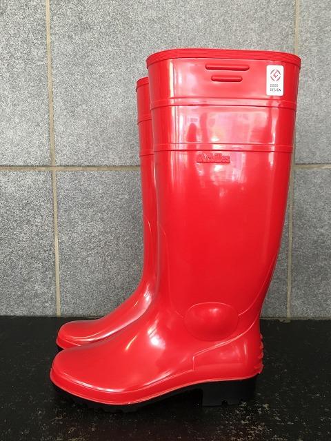 ワークマスター ロング(赤) 日本製 セミ耐油