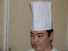 コック帽 白