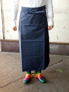 ビニロン腰下防水前掛  大寸(白・紺) 日本製