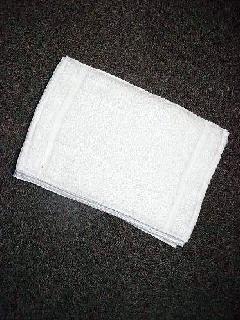 国産 白 おしぼり 100匁 1ダース(12枚)