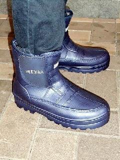超軽量かるぬくブーツ N−3502(紺) 女性用