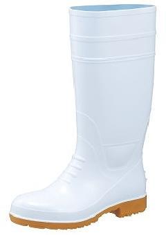 ガロア#2ロング耐油長靴(白)