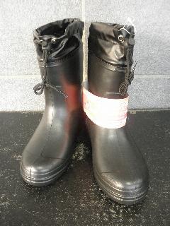 超軽量かるぬくブーツ N−2602(黒)ショートタイプ